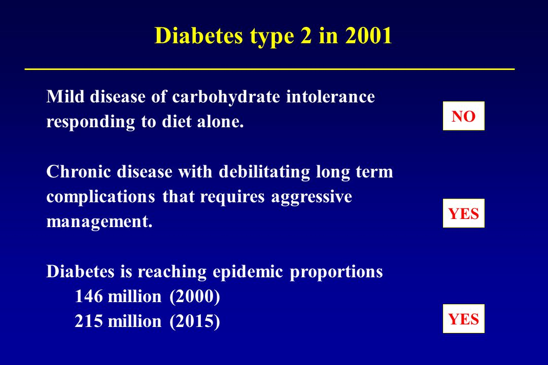 Improving the Prognosis of Patients with Type 2 Diabetes
