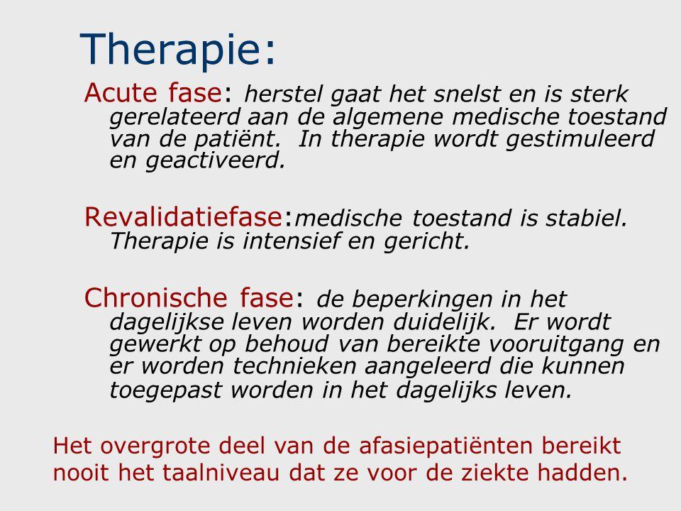 Therapie: