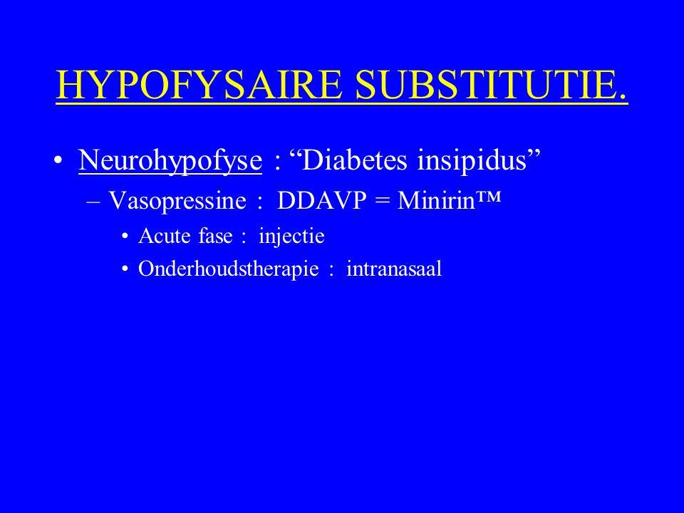 HYPOFYSAIRE SUBSTITUTIE.