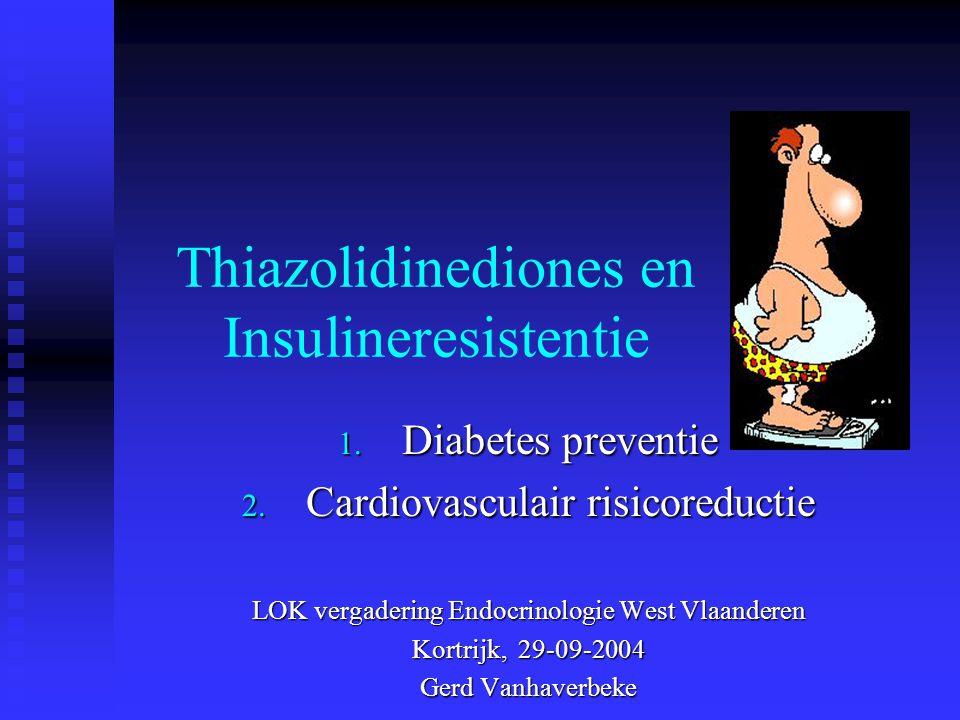 Thiazolidinediones en Insulineresistentie