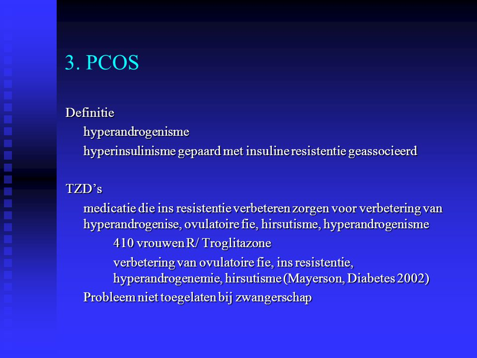 3. PCOS Definitie hyperandrogenisme