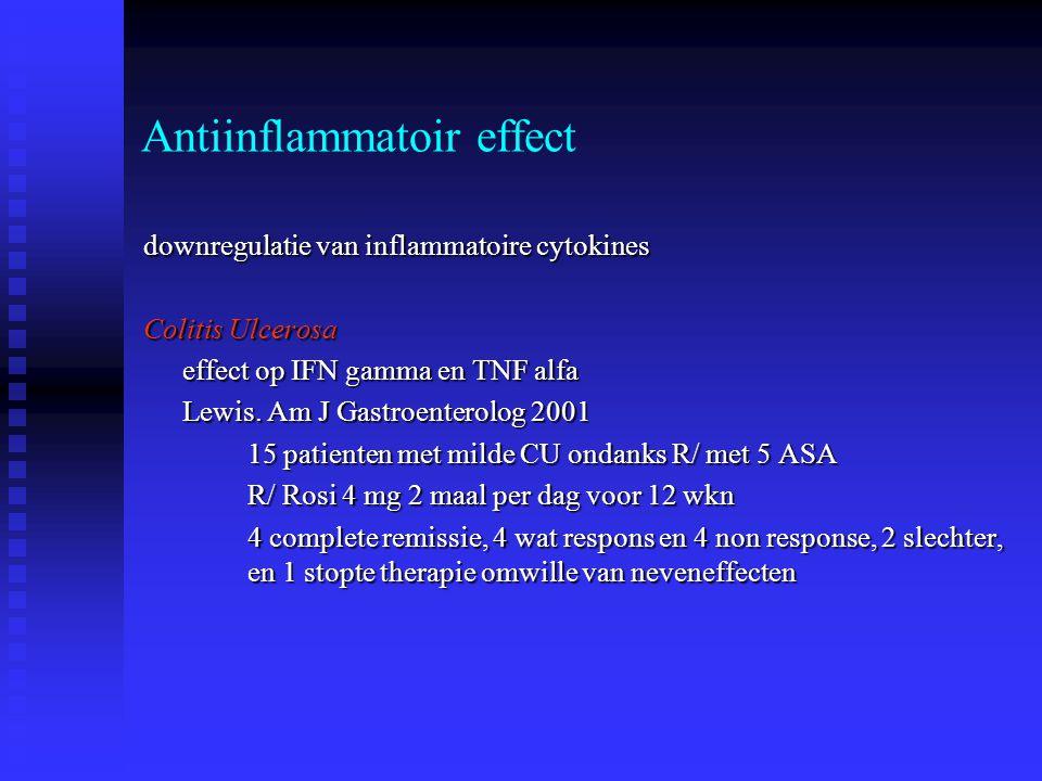 Antiinflammatoir effect