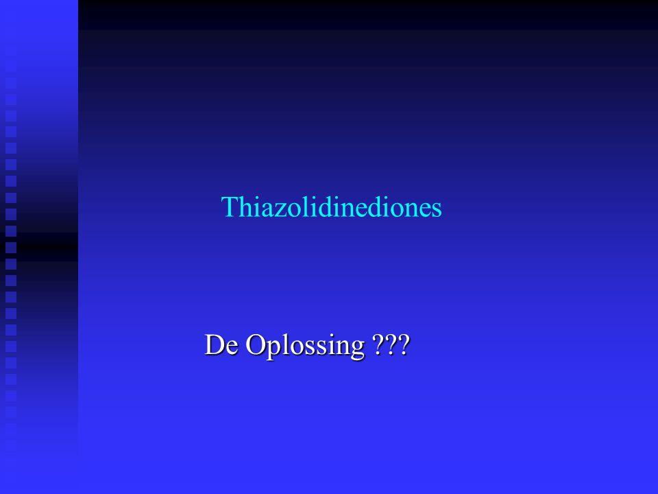 Thiazolidinediones De Oplossing