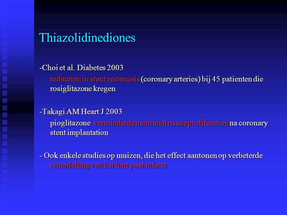 Thiazolidinediones -Choi et al. Diabetes 2003