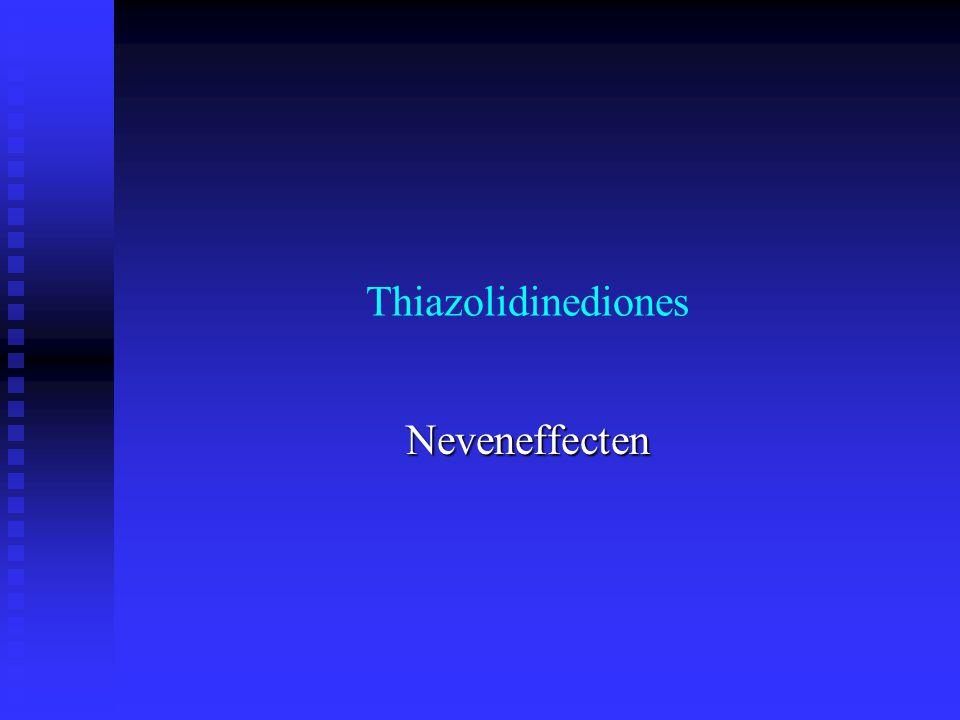 Thiazolidinediones Neveneffecten