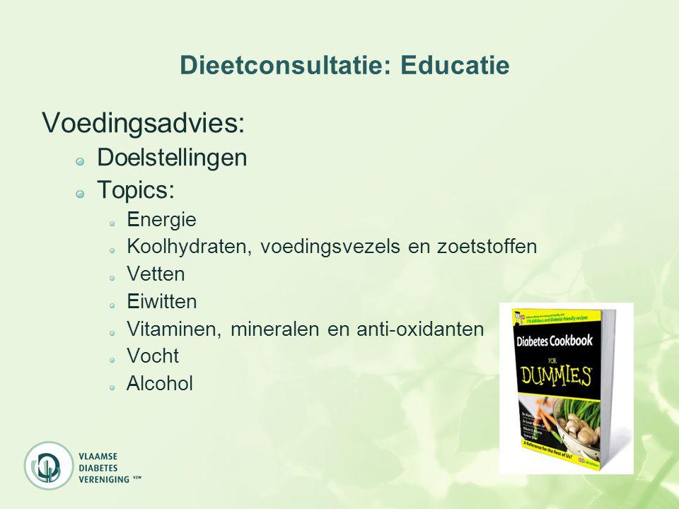 Dieetconsultatie: Educatie