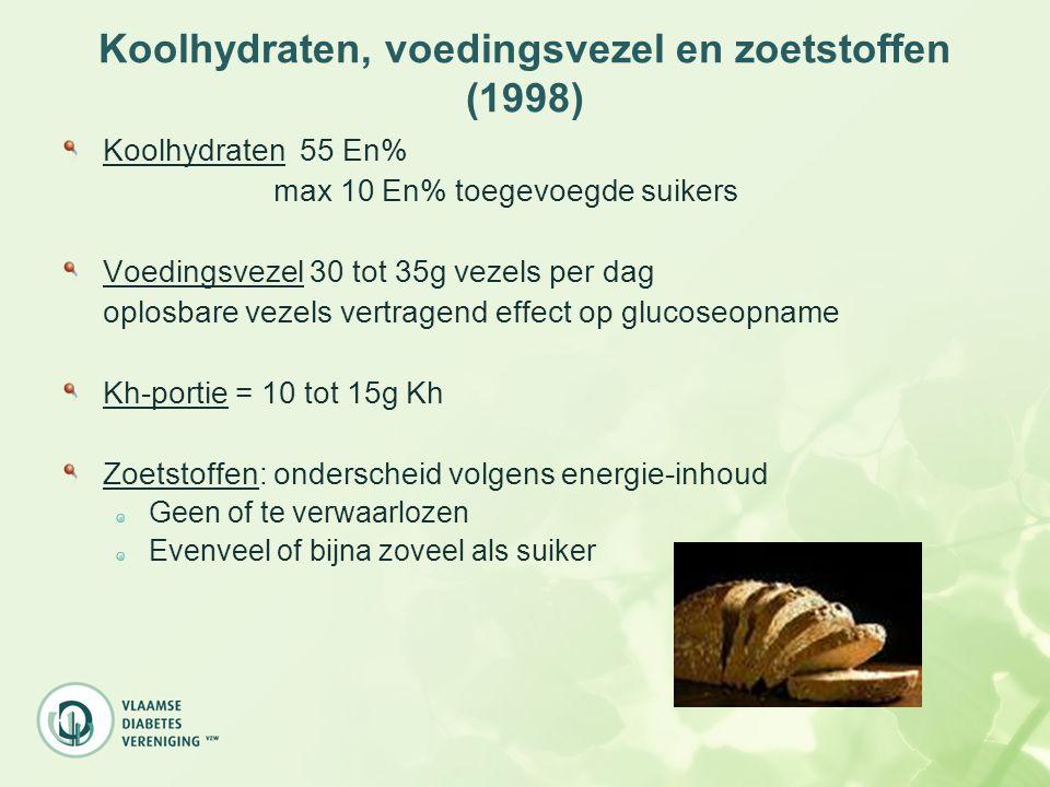 Koolhydraten, voedingsvezel en zoetstoffen (1998)