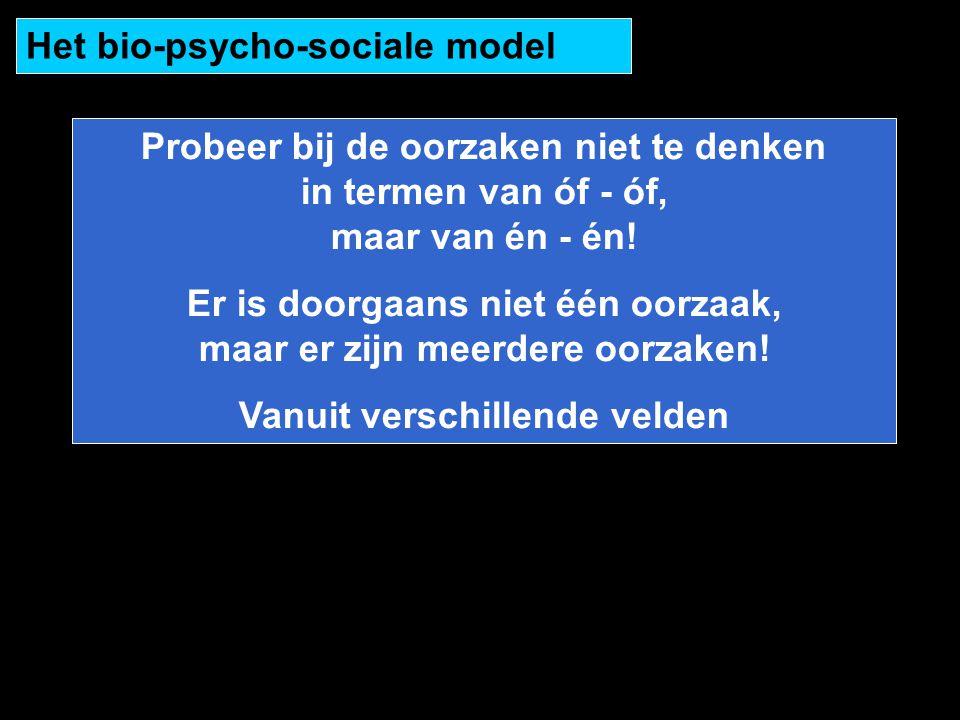 Het bio-psycho-sociale model