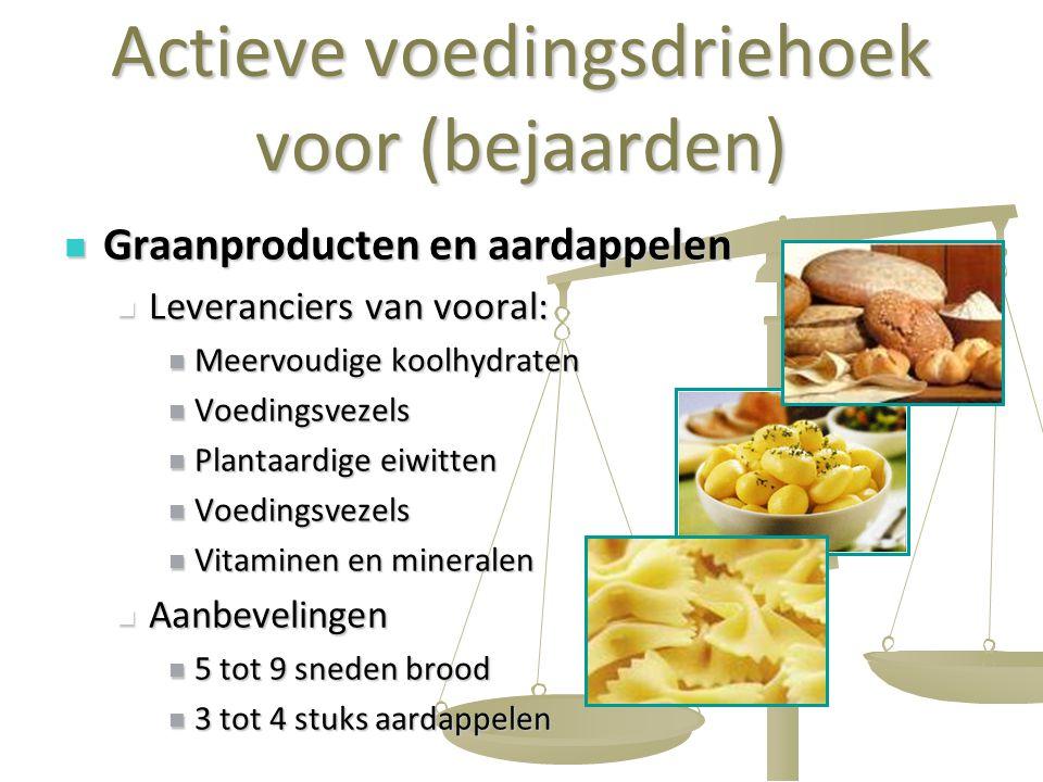 Actieve voedingsdriehoek voor (bejaarden)