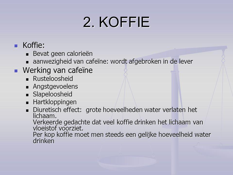 calorieën koffie met suiker