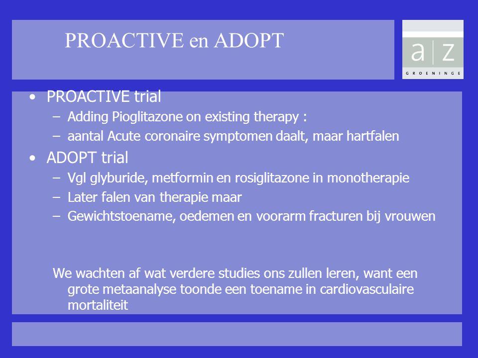 PROACTIVE en ADOPT PROACTIVE trial ADOPT trial