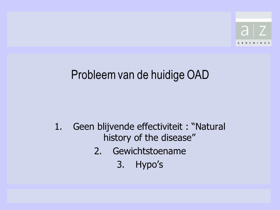 Probleem van de huidige OAD