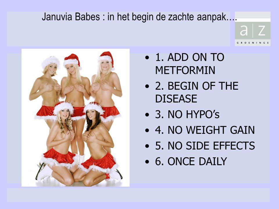 Januvia Babes : in het begin de zachte aanpak….