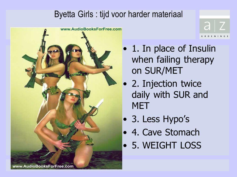 Byetta Girls : tijd voor harder materiaal