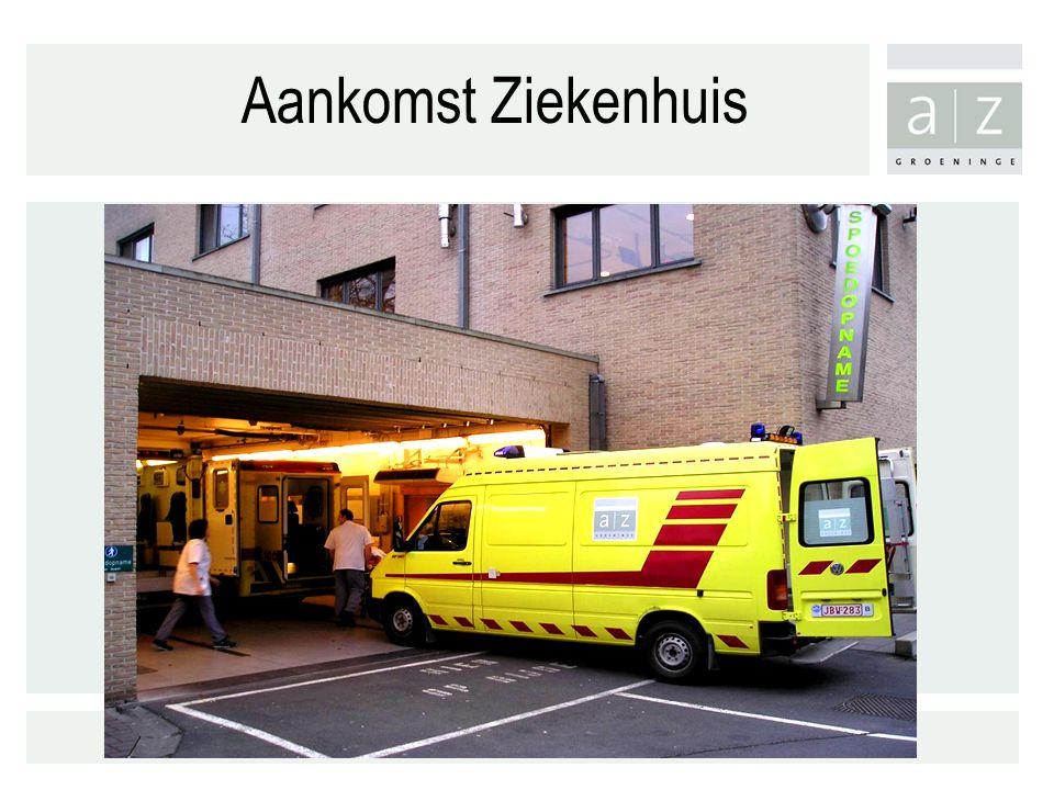 Aankomst Ziekenhuis