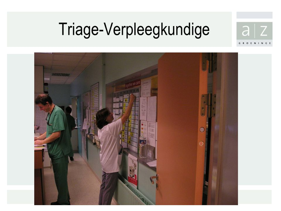 Triage-Verpleegkundige