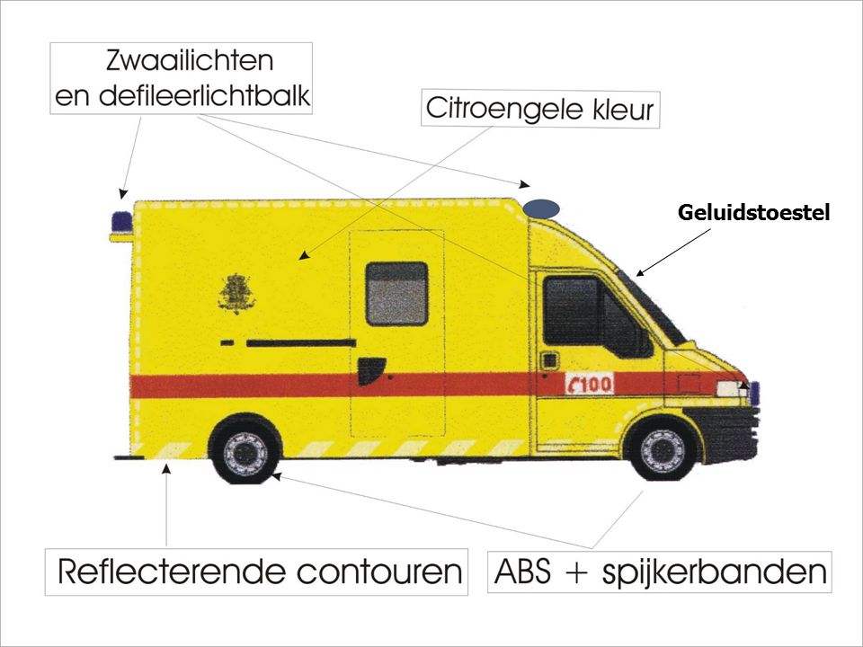 Specificaties in verband met de wagens.
