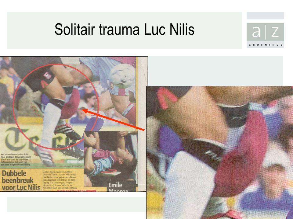 Solitair trauma Luc Nilis