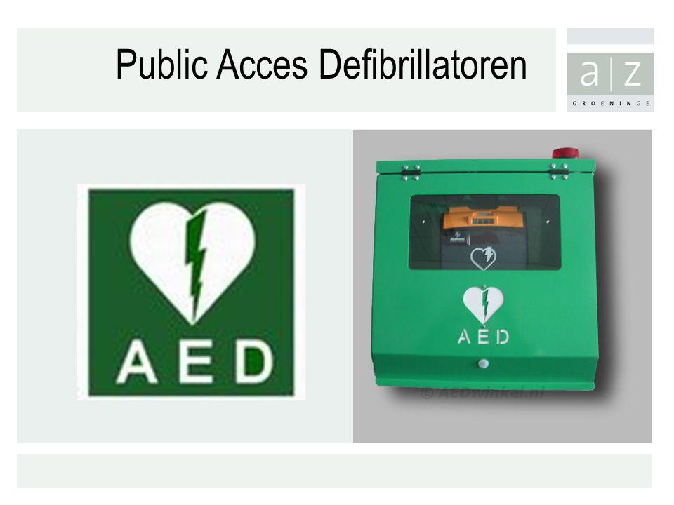Public Acces Defibrillatoren
