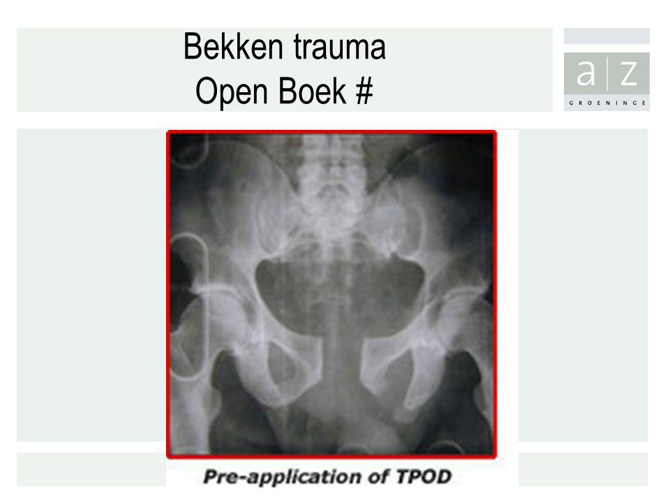 Bekken trauma Open Boek #