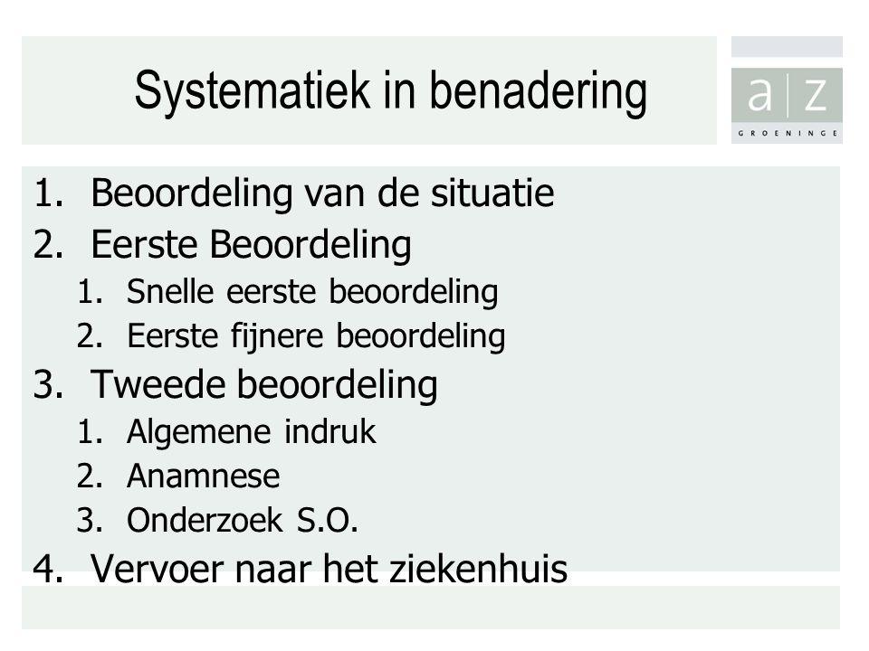 Systematiek in benadering