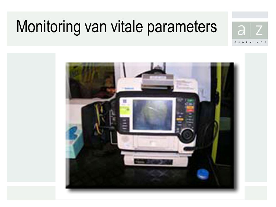 Monitoring van vitale parameters