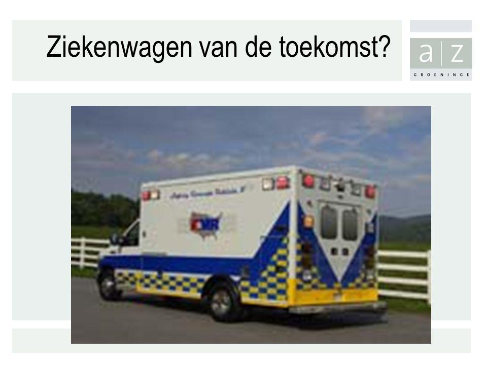 Ziekenwagen van de toekomst