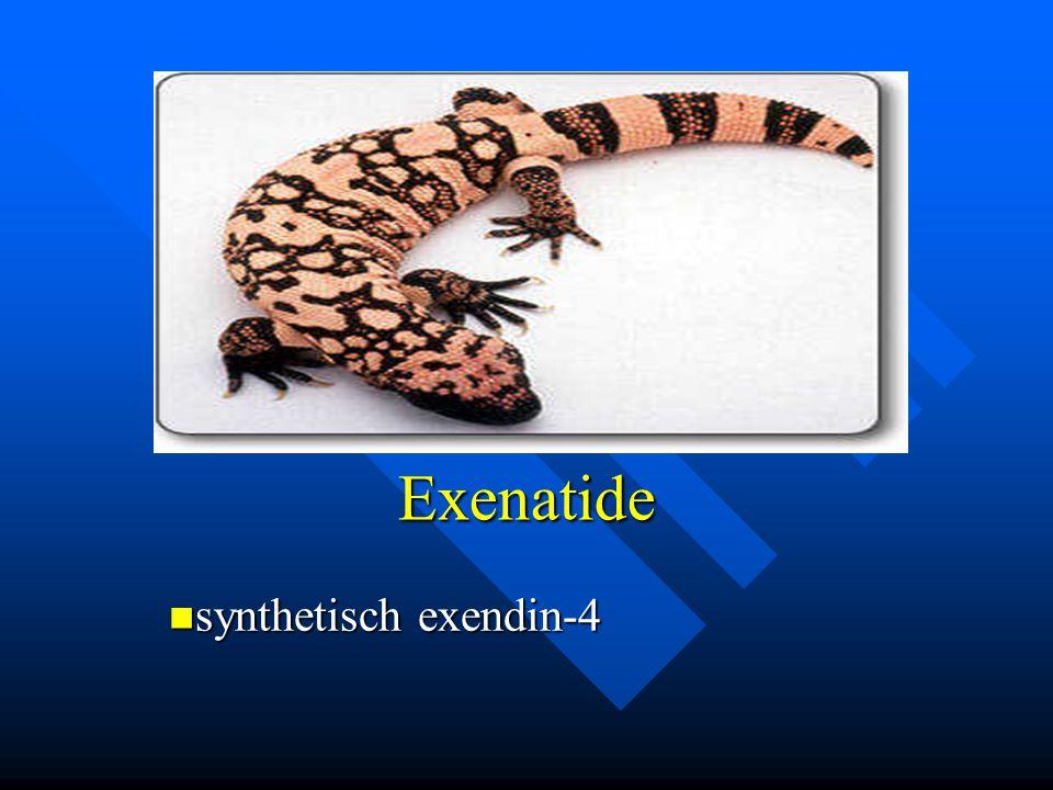 Exenatide synthetisch exendin-4