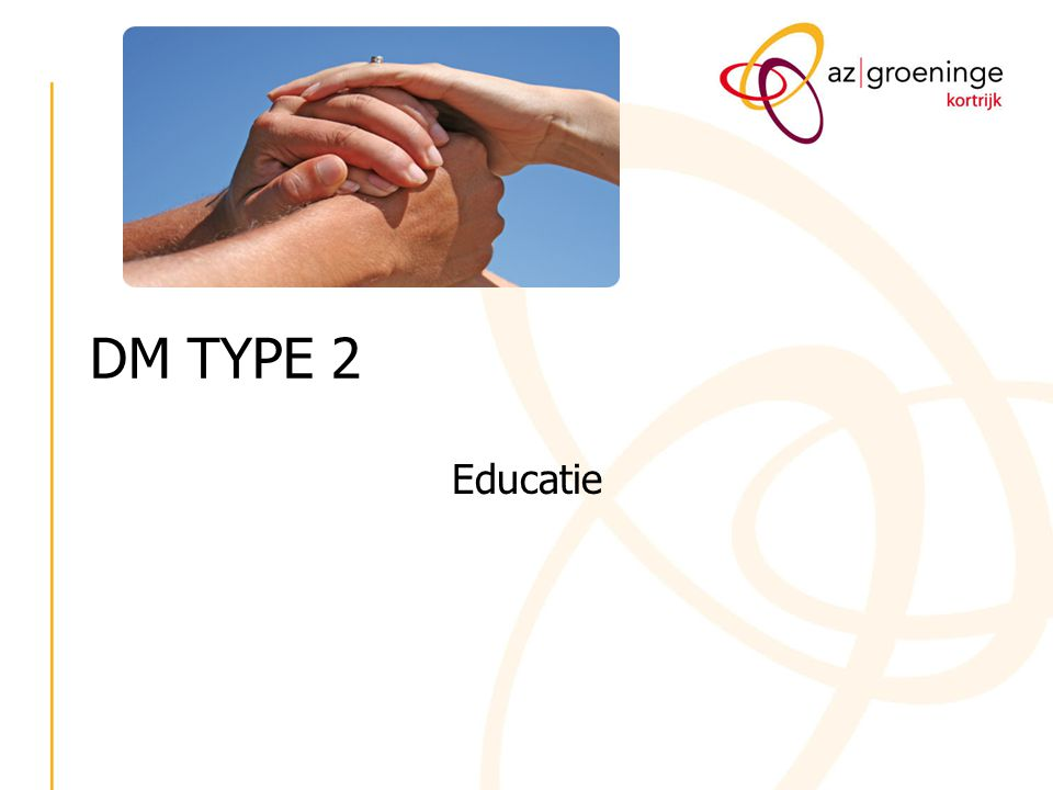 DM TYPE 2 Educatie