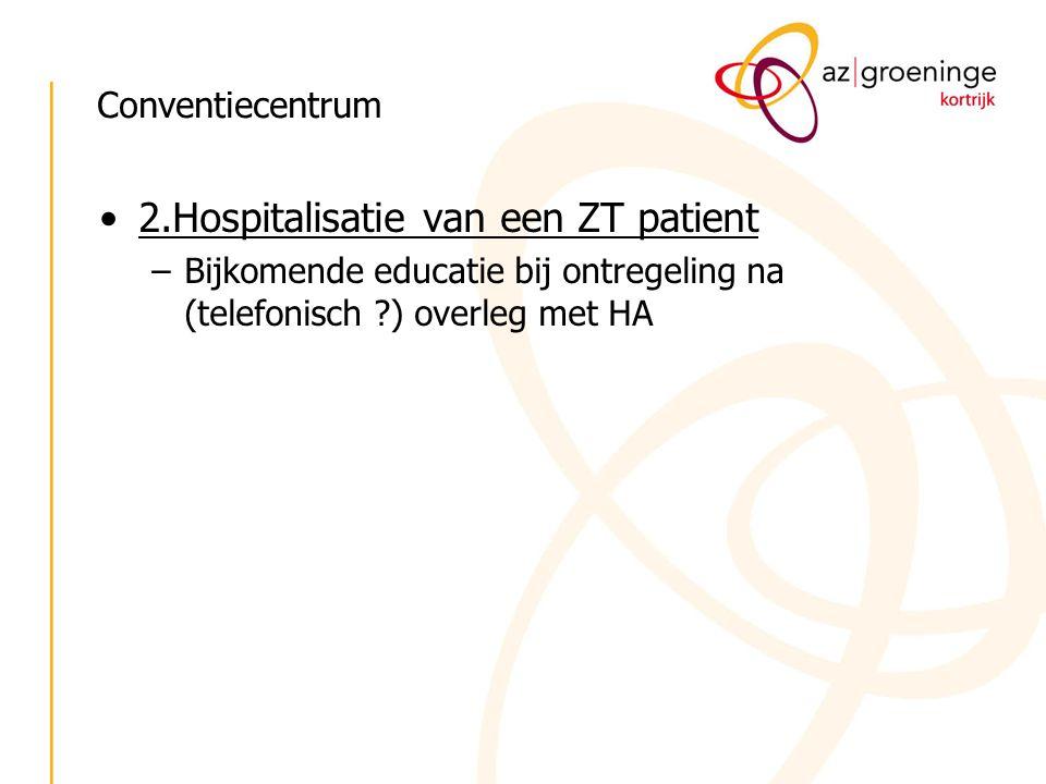 2.Hospitalisatie van een ZT patient