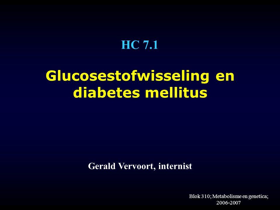 Glucosestofwisseling en Gerald Vervoort, internist