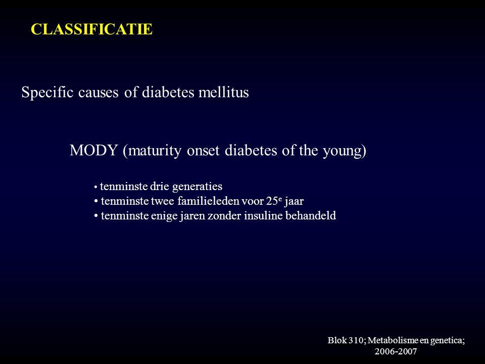 Blok 310; Metabolisme en genetica; 2006-2007