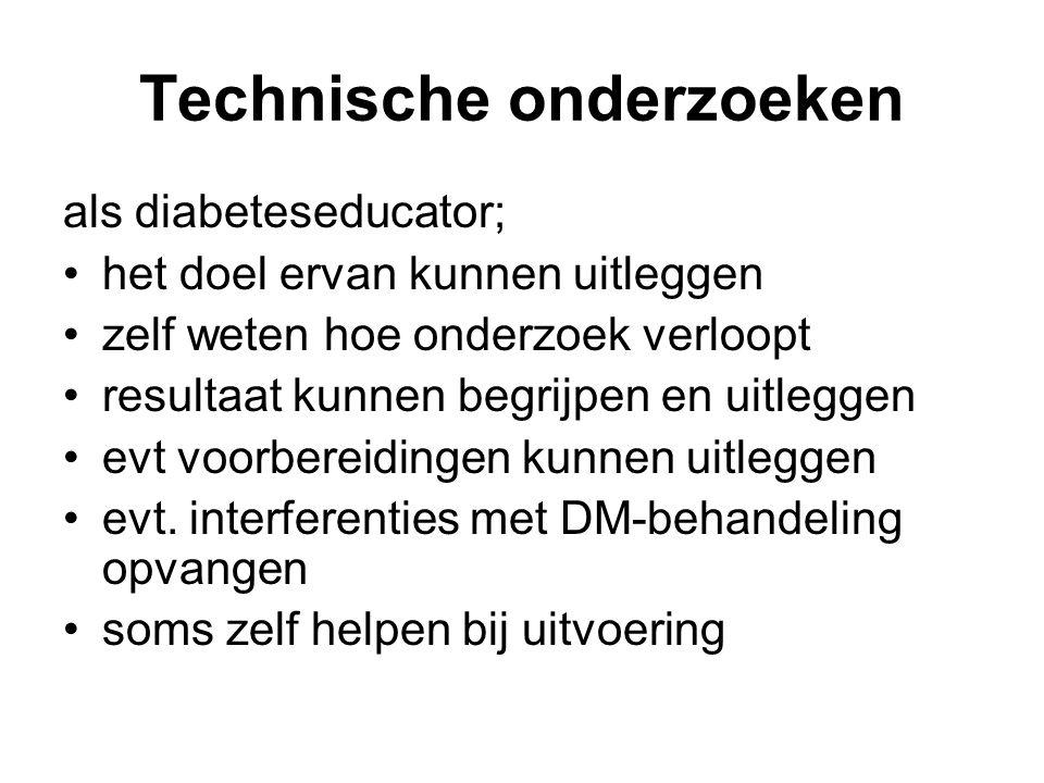 Technische onderzoeken