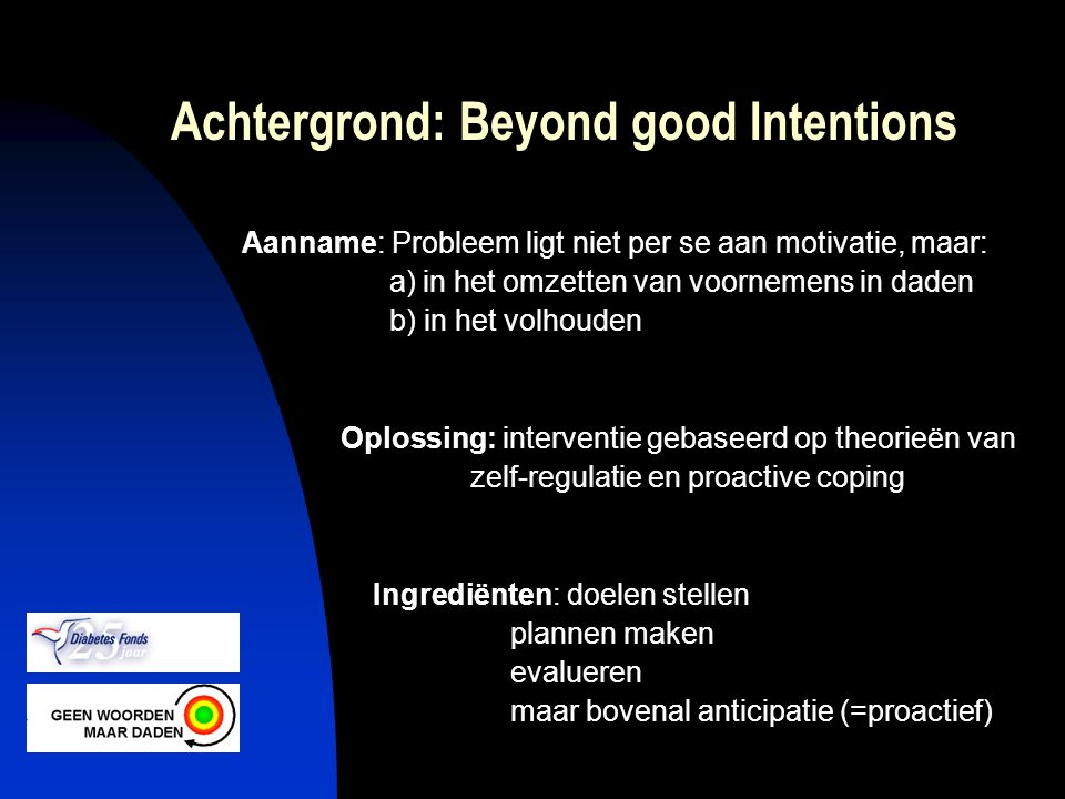 Achtergrond: Beyond good Intentions