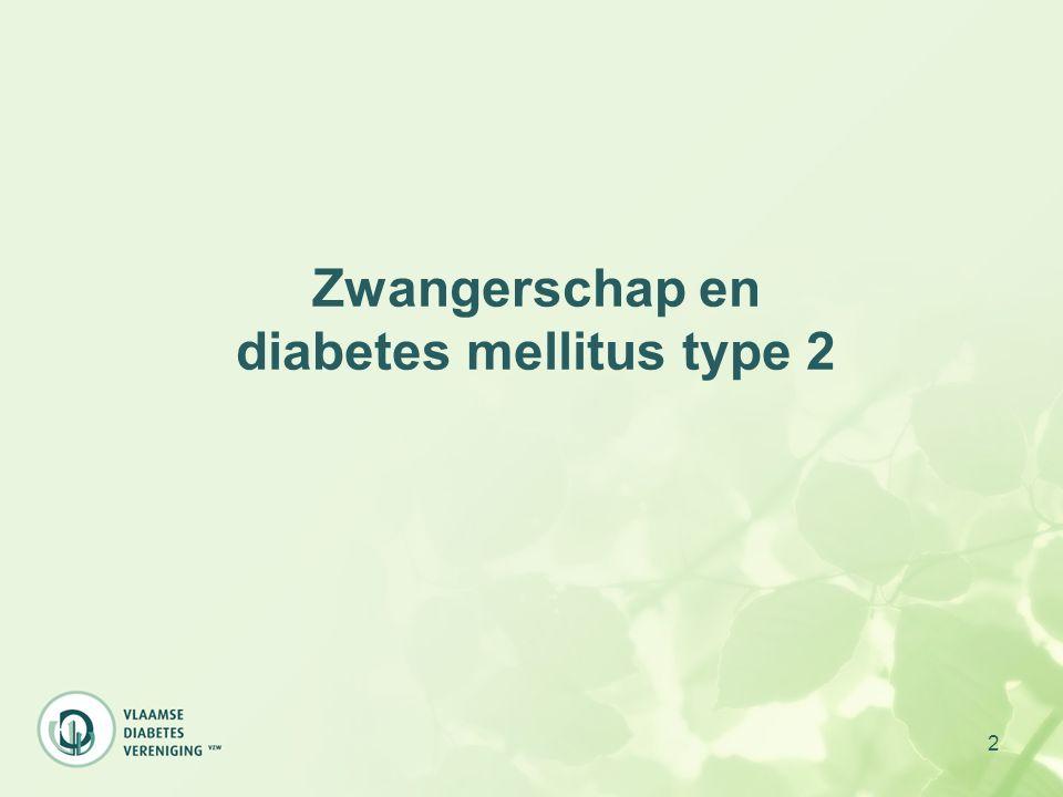 Zwangerschap en diabetes mellitus type 2