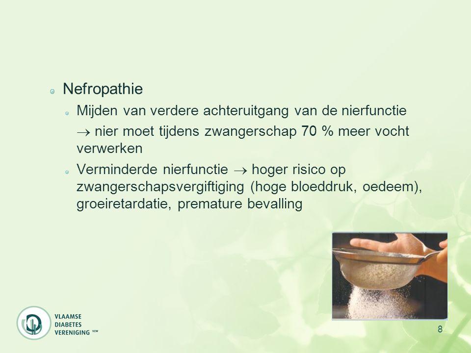 Nefropathie Mijden van verdere achteruitgang van de nierfunctie