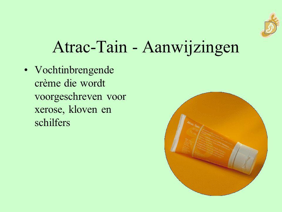 Atrac-Tain - Aanwijzingen