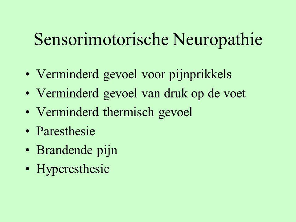 Sensorimotorische Neuropathie