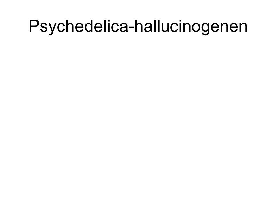 Psychedelica-hallucinogenen