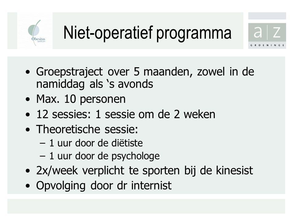 Niet-operatief programma