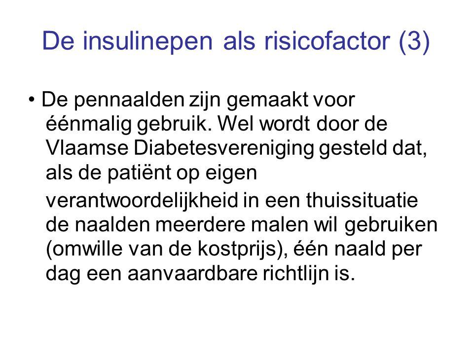 De insulinepen als risicofactor (3)