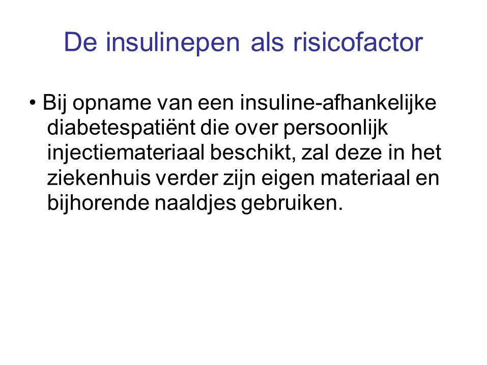 De insulinepen als risicofactor