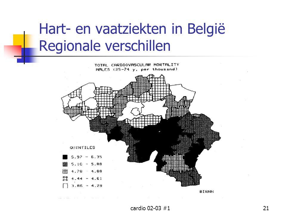 Hart- en vaatziekten in België Regionale verschillen