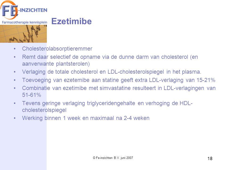 Ezetimibe Cholesterolabsorptieremmer