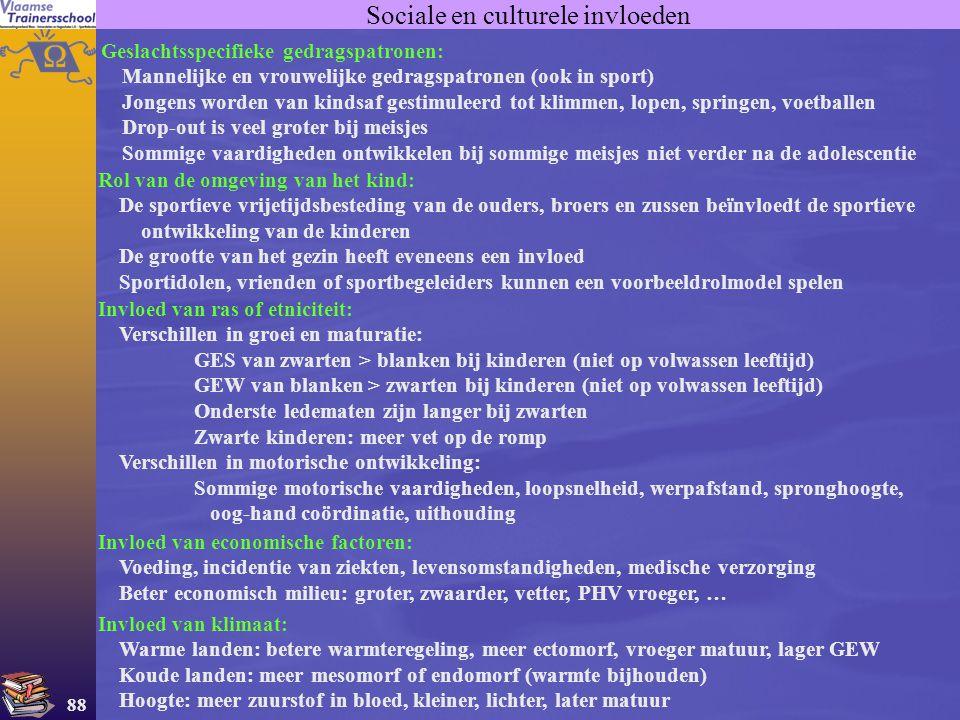 Sociale en culturele invloeden