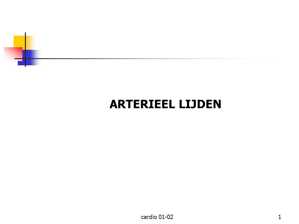 ARTERIEEL LIJDEN cardio 01-02
