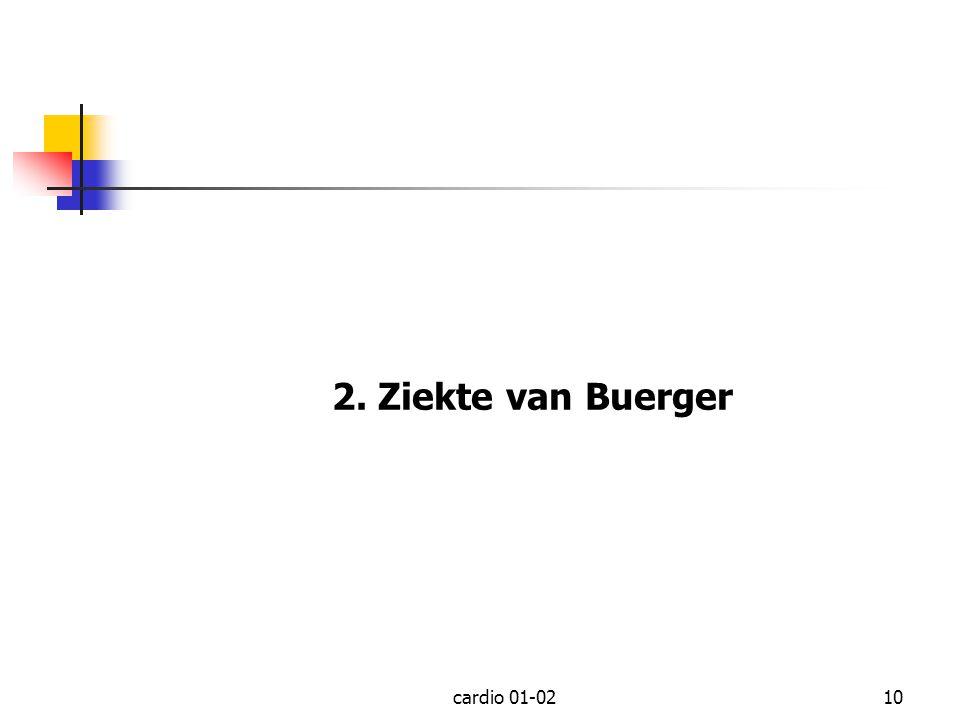 2. Ziekte van Buerger cardio 01-02