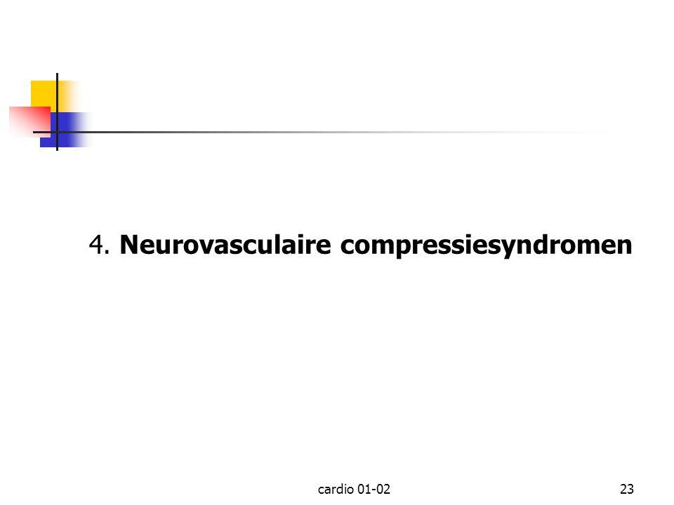 4. Neurovasculaire compressiesyndromen