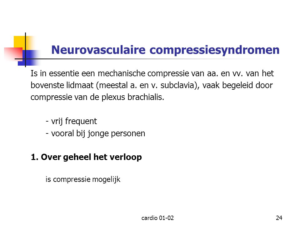 Neurovasculaire compressiesyndromen