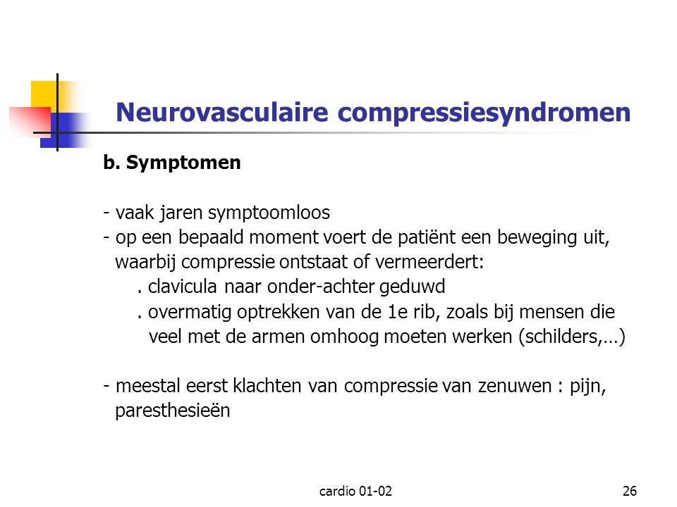 Neurovasculaire compressiesyndromen